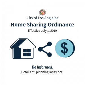 City of Los Angeles Home Sharing Ordinance