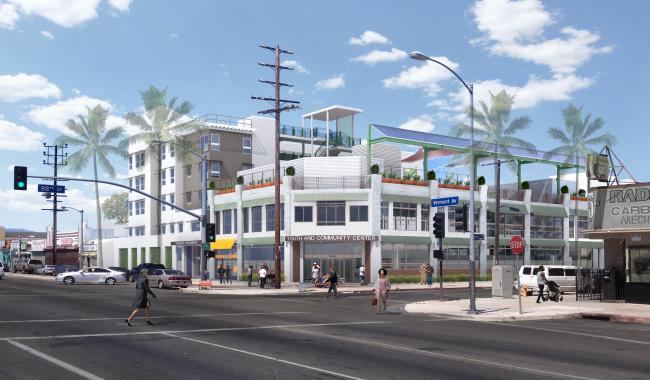 Apartment Complex Concept Design
