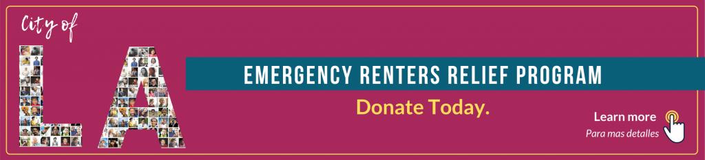LA City Emergency Renters Assistance Banner