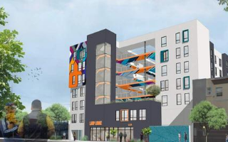 HHH funded affordable housing project