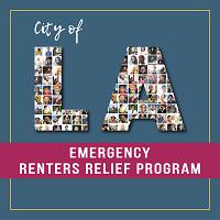 City of Los Angeles Emergency Renters Relief Program graphic