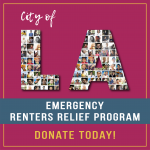 City of Los Angeles Emergency Renters Relief Program. Donate Today!